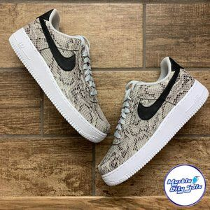 Nike Air Force 1 Low Snakeskin White Black